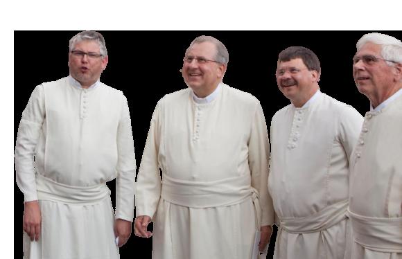 Die Brüder des Kloster in Magdeburg